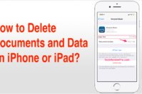 How to Delete Documents and Data on iPhone or iPad, and from iCloud?