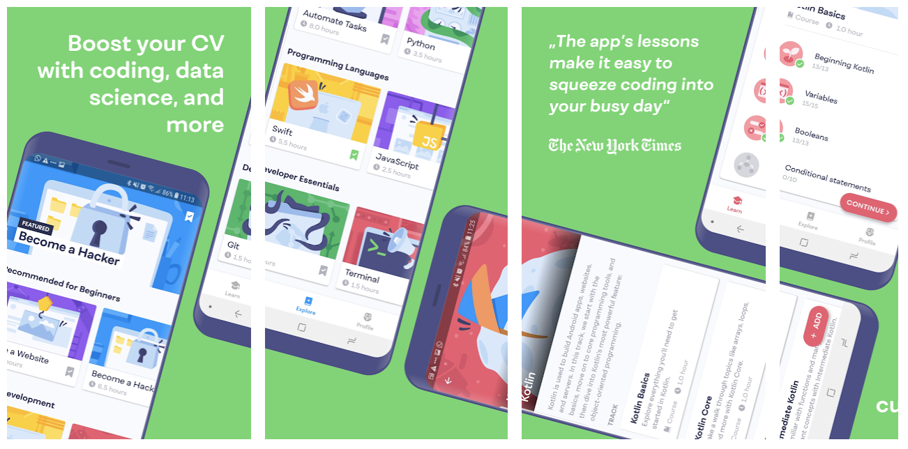 Mimo - Best App to Learn Coding - Cool New Android App