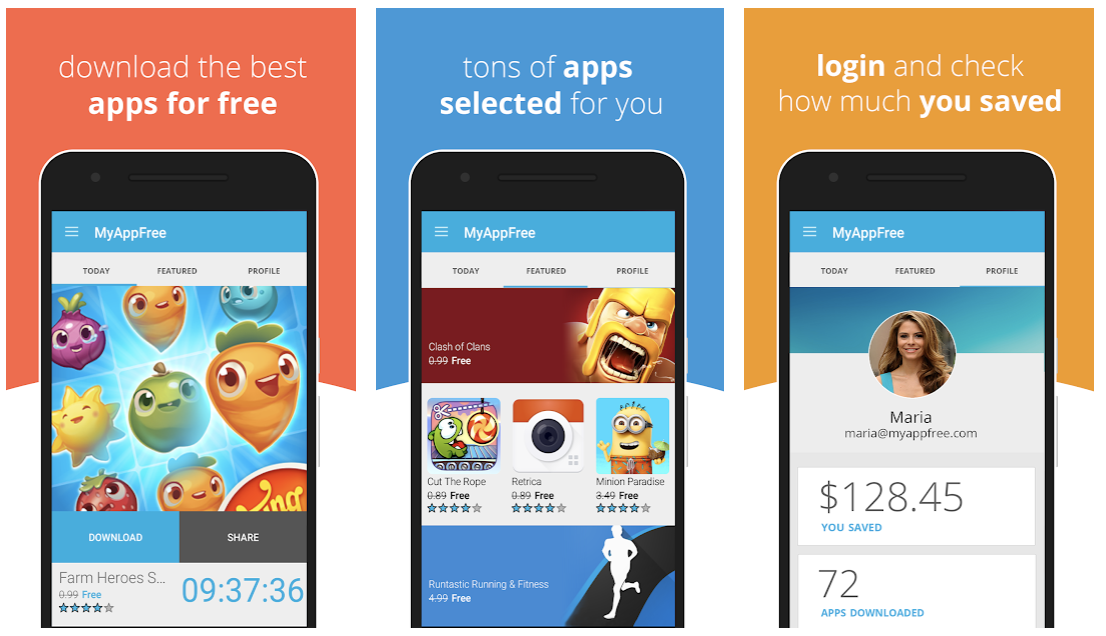MyAppFree - Get Paid Apps for Free on Android