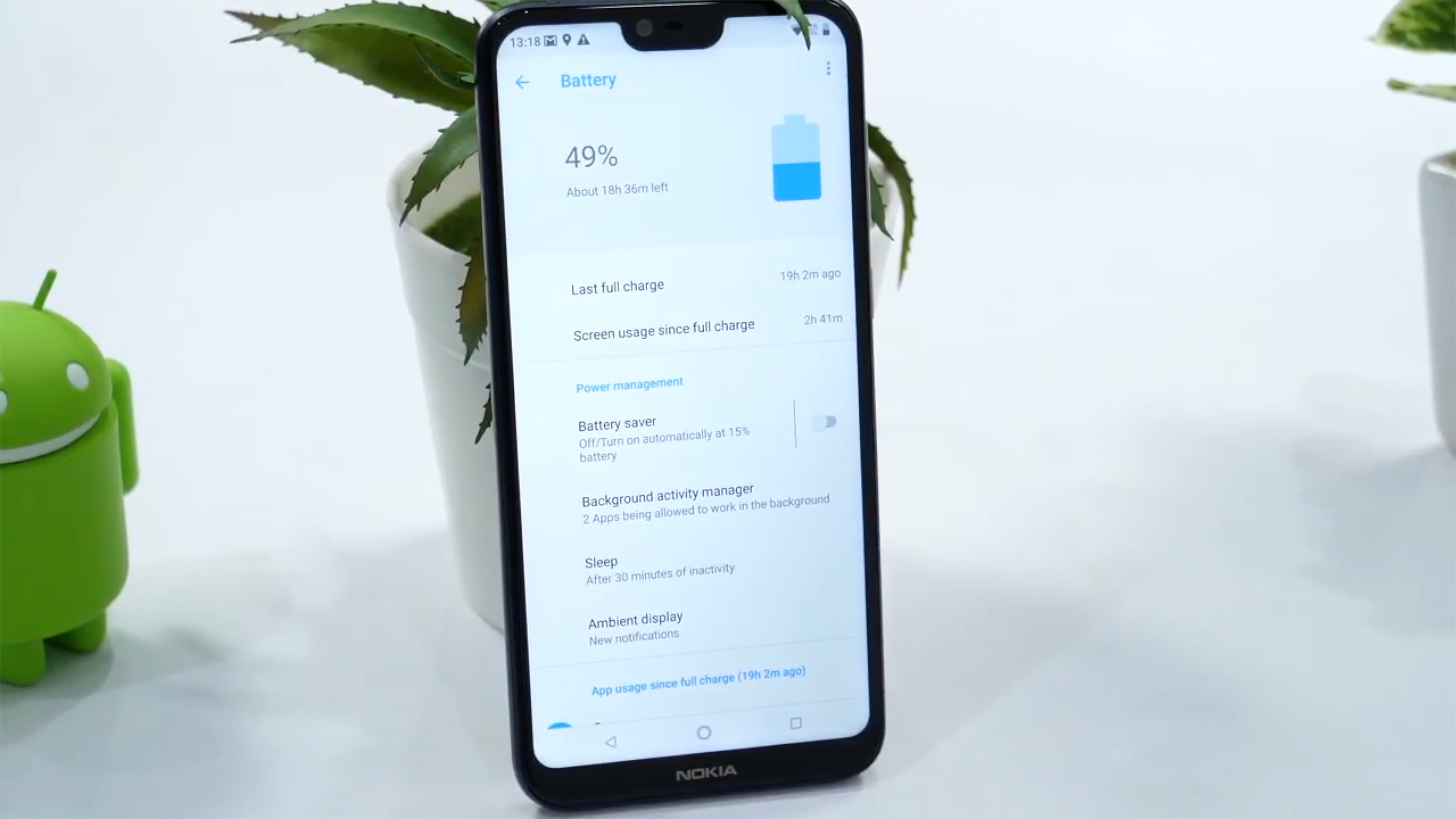 Nokia 6.1 Plus Battery Test - Battery Drain Test of Nokia 6.1 Plus