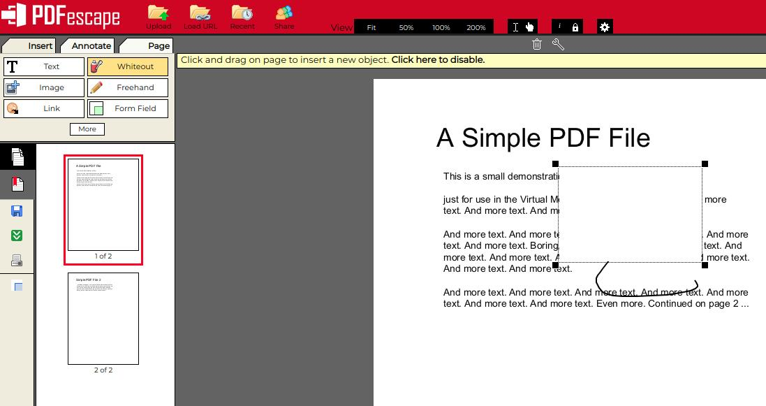 pdfescape pdf editor for Linux - Best Linux PDF Editors to Edit PDFs for Free