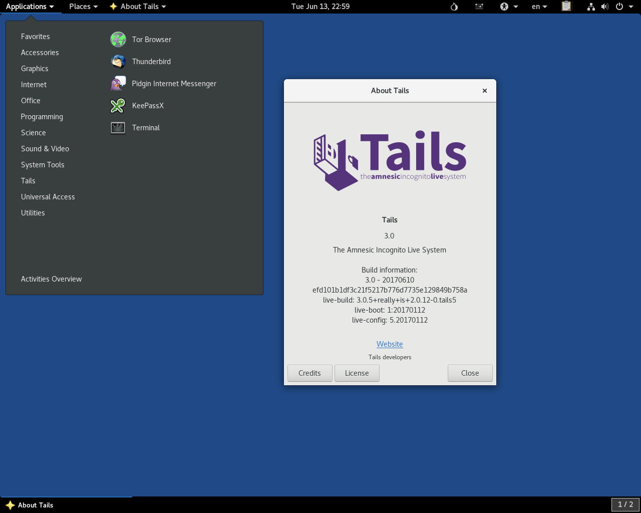 tails OS - Best Linux Distros for Privacy - Best Linux Distros for Beginners