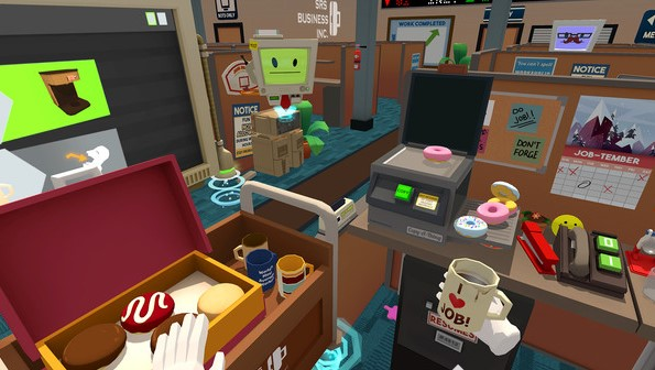 Job Simulator - Some School Games you can Play - SomeSchoolGames