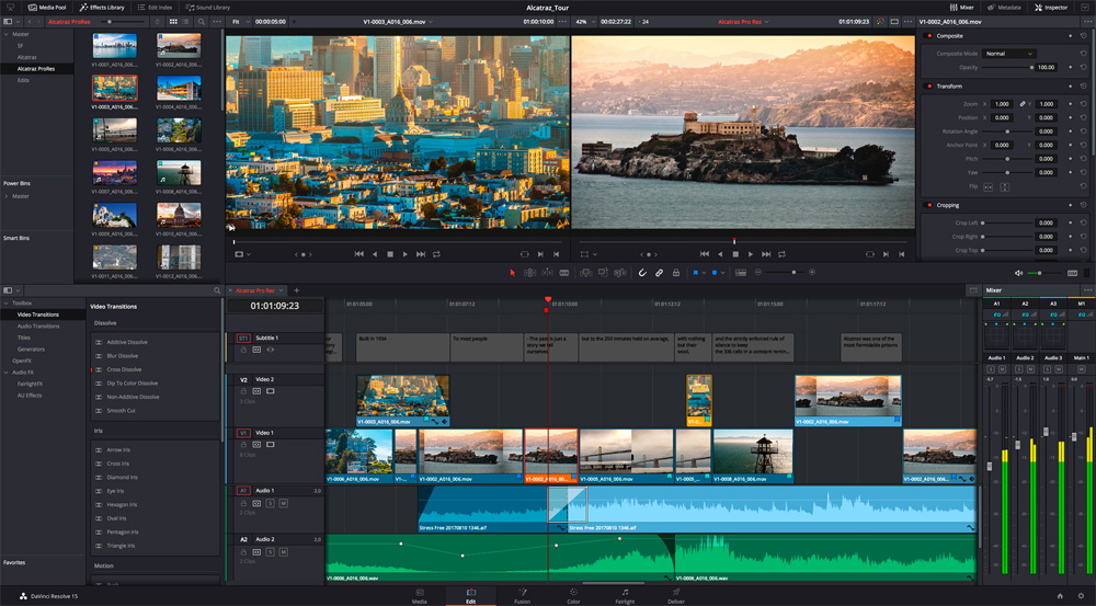 davinci resolve video editor - Best Linux Video Editing Software for Editing Videos on Linux