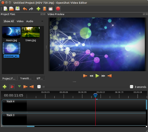 openshot - Best Linux Video Editing Software for Editing Videos on Linux
