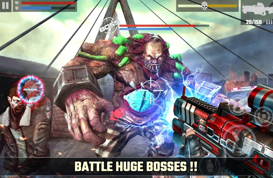 dead target - Best Zombie Gun Games for Android - Zombie Shooting Games