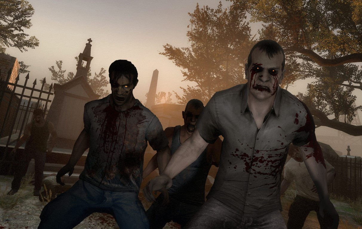 left 4 dead - Best Zombie Gun Games for Zombie Shooting Games Lovers