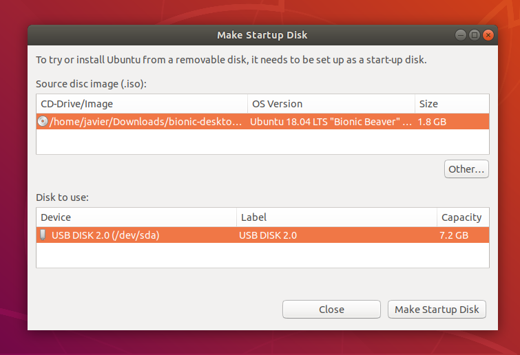 startup disk creator - Best UNetbootin Alternatives for Linux