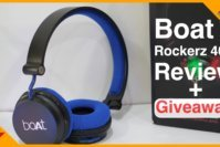 Boat Rockerz 400 Wireless Bluetooth Headphone Review and Giveaway