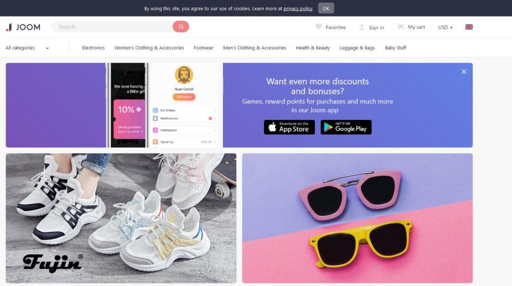 Joom - Apps Like Wish: 11 Cheap Shopping Apps like Wish