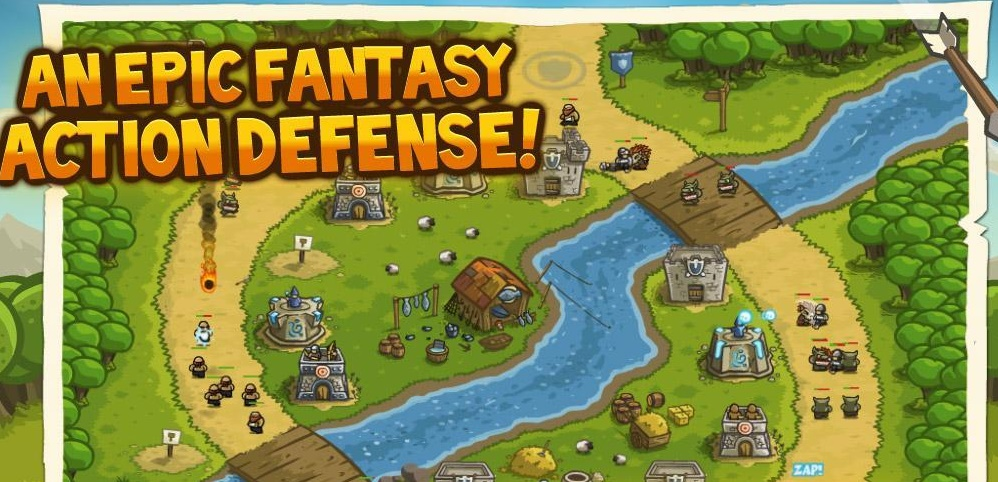 Kingdom Rush - Games Like Boom Beach that are Very Similar to Boom Beach