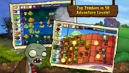 plants vs zombies - games like boom beach