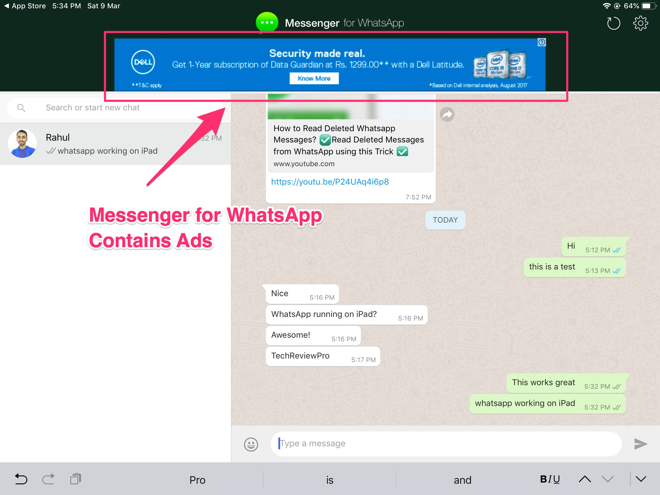 Messenger for WhatsApp on iPad - How to Install WhatsApp Messenger on iPad