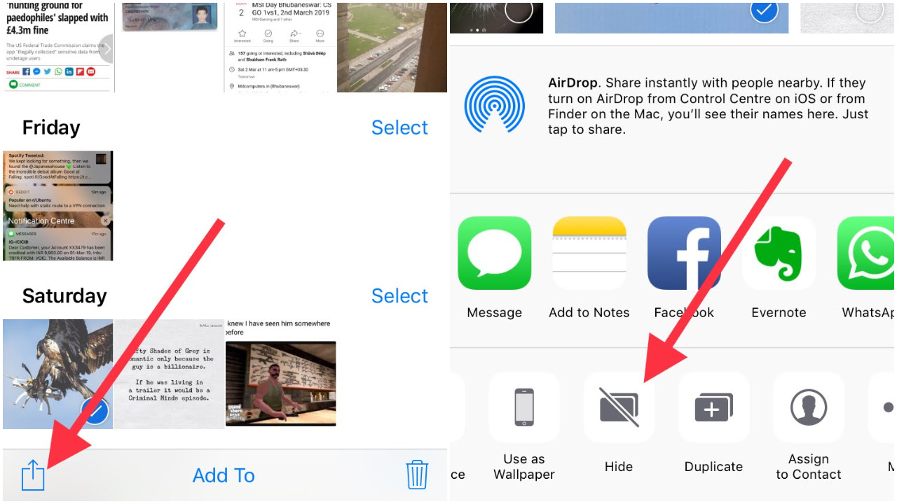 How to Hide Pictures on iPhone and iPad