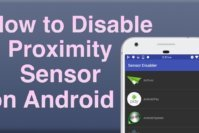 How to Disable Proximity Sensor in Android?
