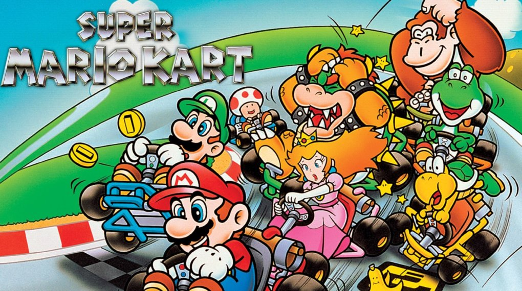 Super Mario Kart - Best Mario Kart Games of All-Time