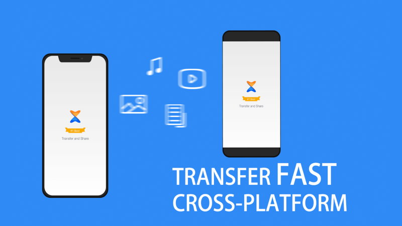 Transfer Files from Android to iPhone - Files Sharing Apps to Share Files from Android to iOS