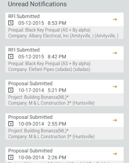 SmartBid for Construction App for Android - Free Construction Apps for Android