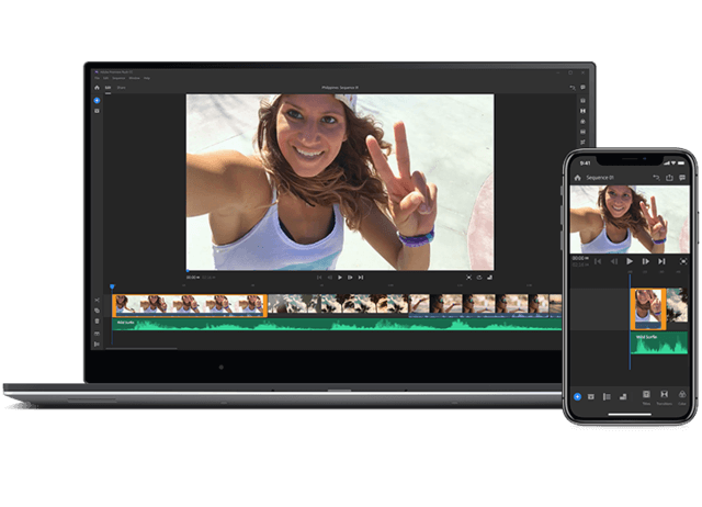 Best Apps Like iMovie that are Similar to iMovie - Adobe Premiere Pro