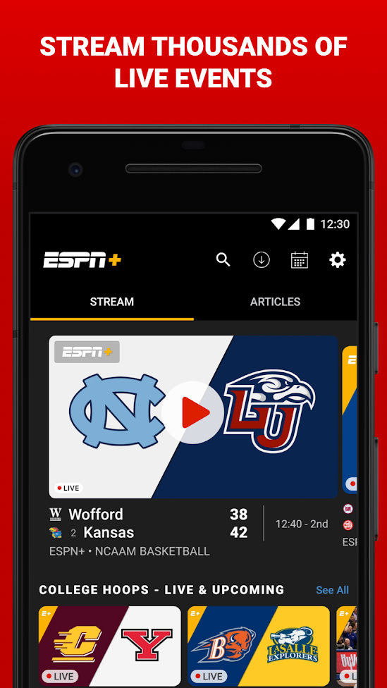 Free Football Streaming Apps to Watch Live Football Matches