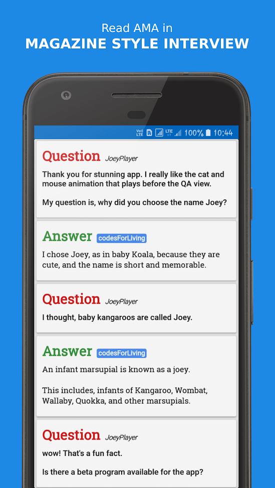 Joey for Reddit - Best Reddit Apps for Android