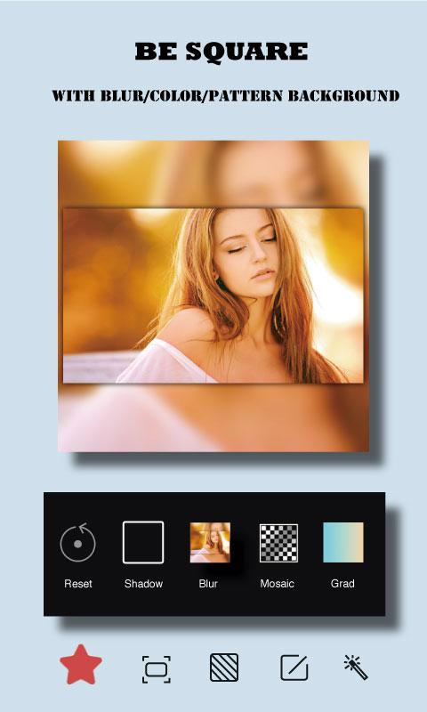 Square Fit Size - Collage Maker Photo Editor - Best Free No Crop Apps For Instagram