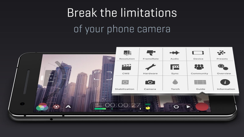 Filmic Pro Camera App - Best Video Recording Apps For Android