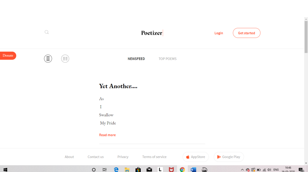 Poetizer - Best Apps and Websites Like Wattpad