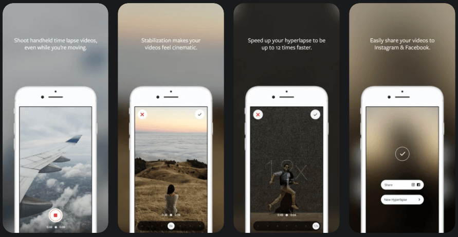 Hyperlapse - Best Time-Lapse Video Maker Apps to Make Time-Lapse Videos
