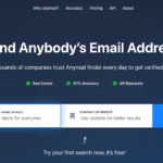 AnyMail Finder - best email finder tool for personal email IDs -instagram email finder tool
