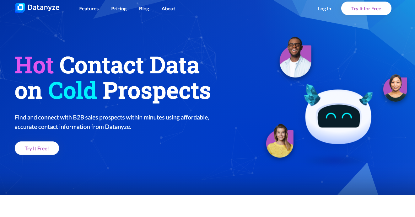 Datanyze - best email finder tool for prospects - free email finding tools