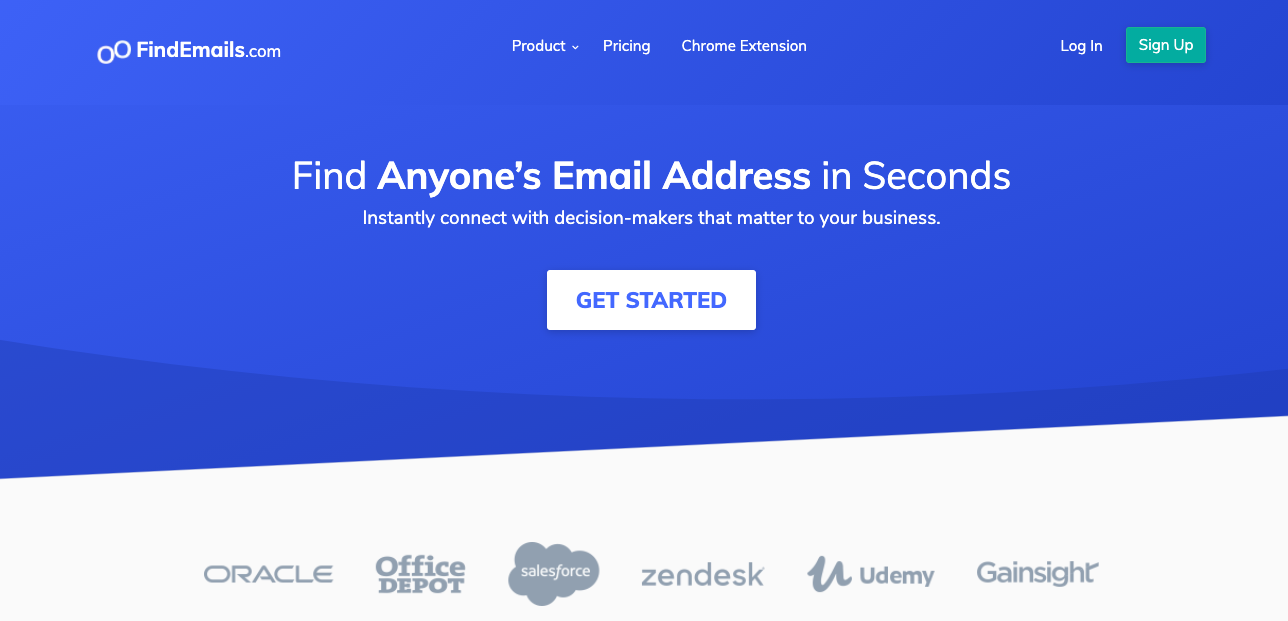FindEmails.com - best email finder tool for individuals - tool for finding email address