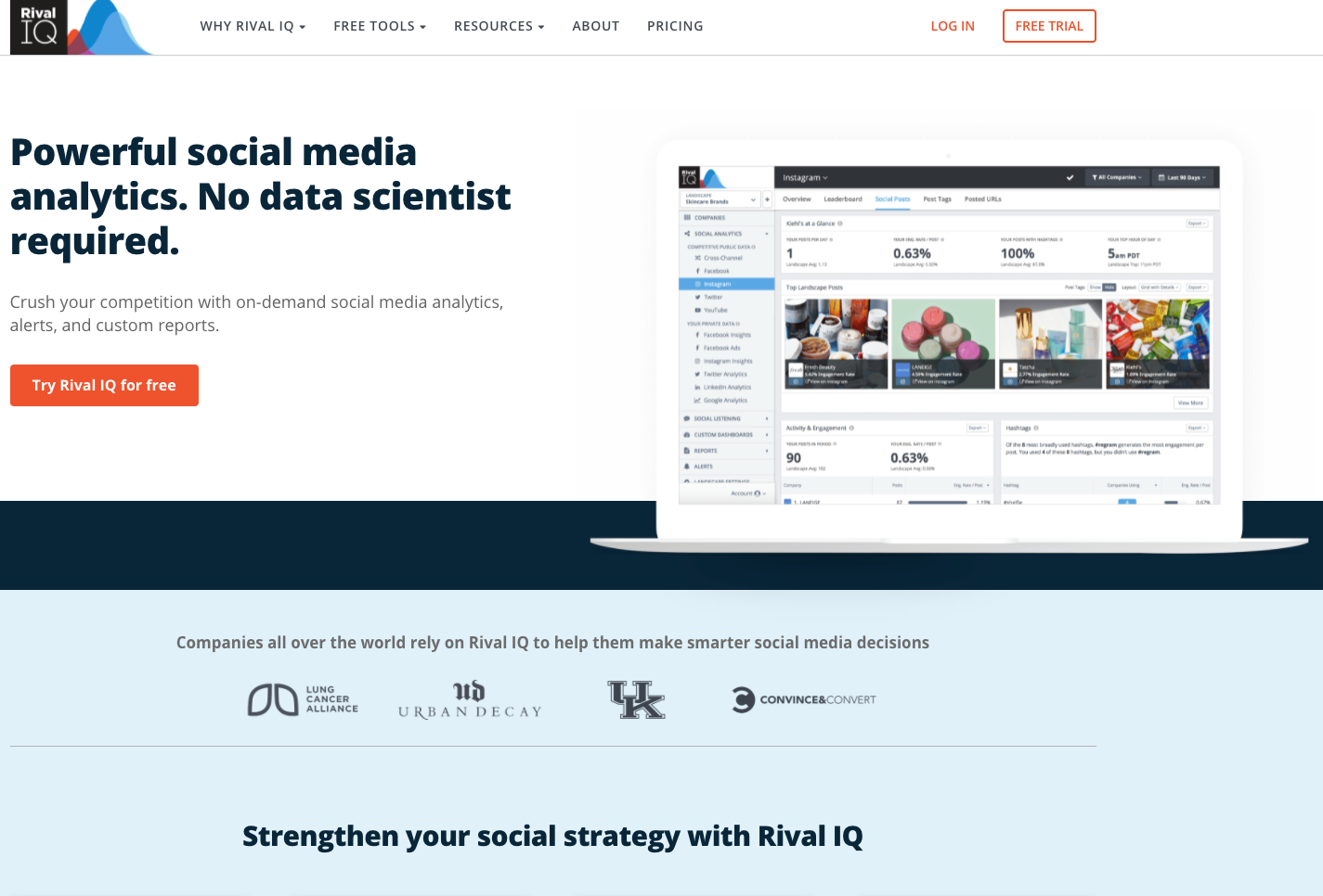 Rival IQ Competitive Intelligence Tool for Data Interpretation - Best Competitive Intelligence Tools